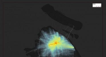 学员作品:出租车数据的处理与可视化展示