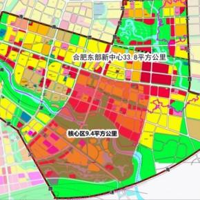 求合肥总规控规地形图CAD资料