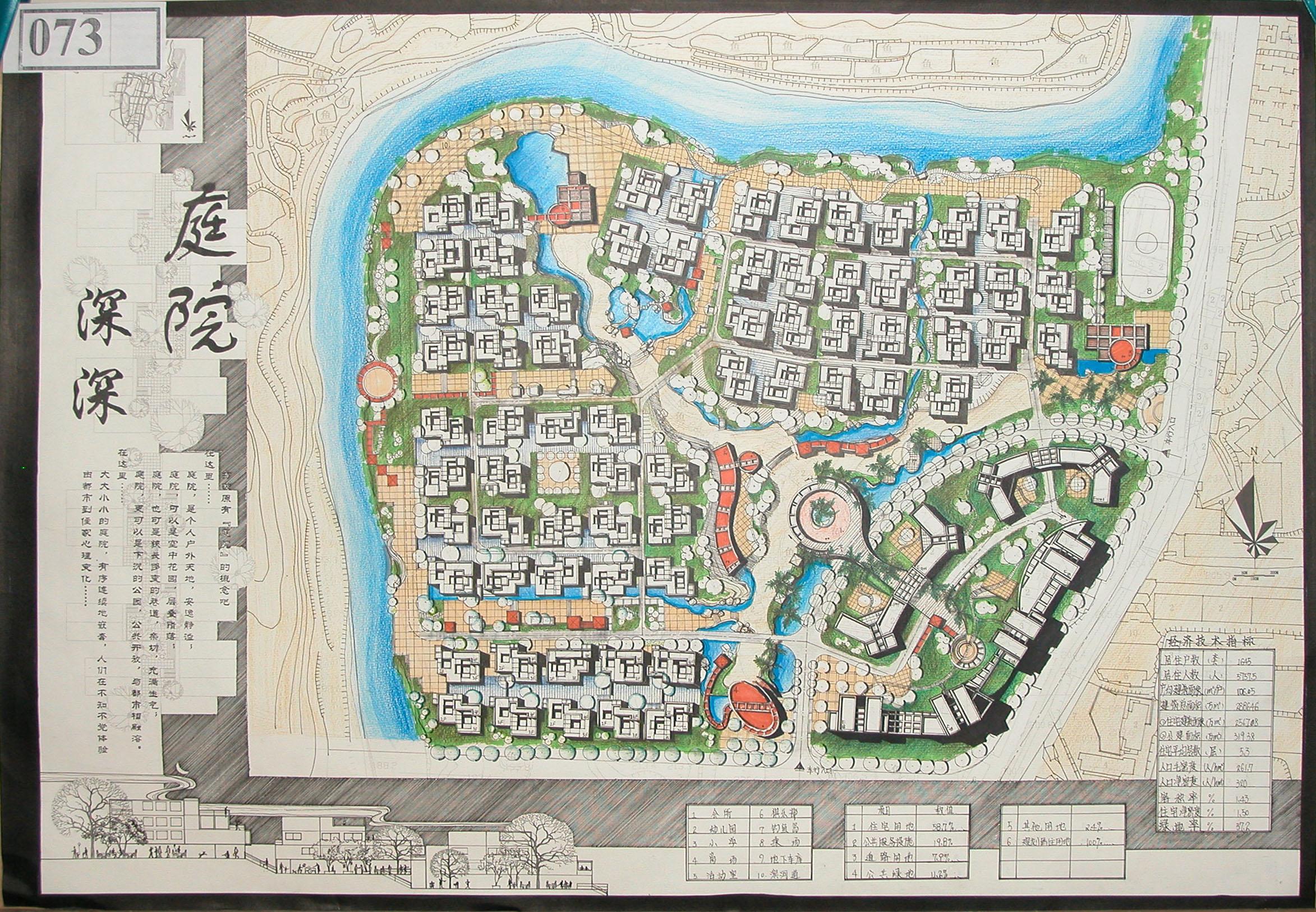 重庆南开地图手绘