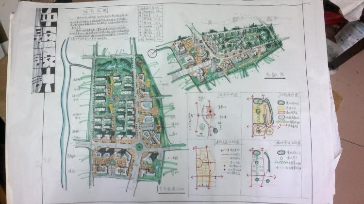 居住区与大学校园快题设计