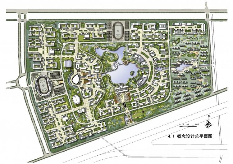 校园绿地规划快题设计分享展示