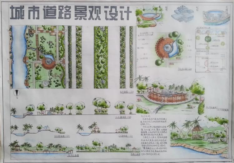 城市道路 景观 设计 手绘 与快题 城市规划论坛