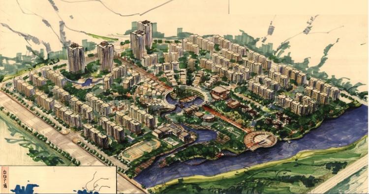 城市规划专业全国大学生设计竞赛获奖作品(居住区
