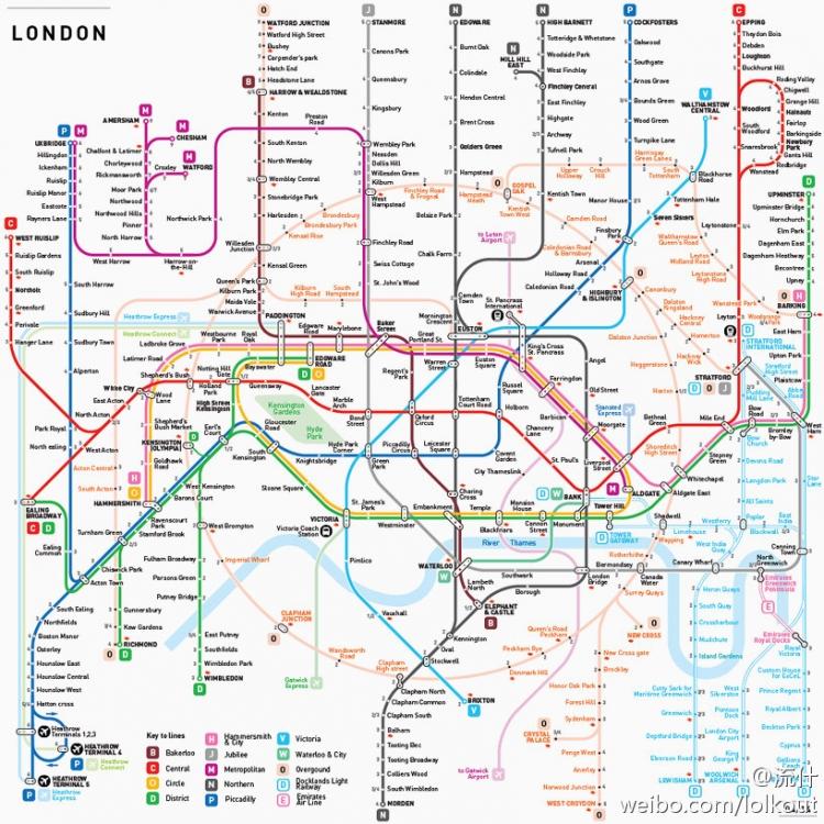 巴黎地铁路线图