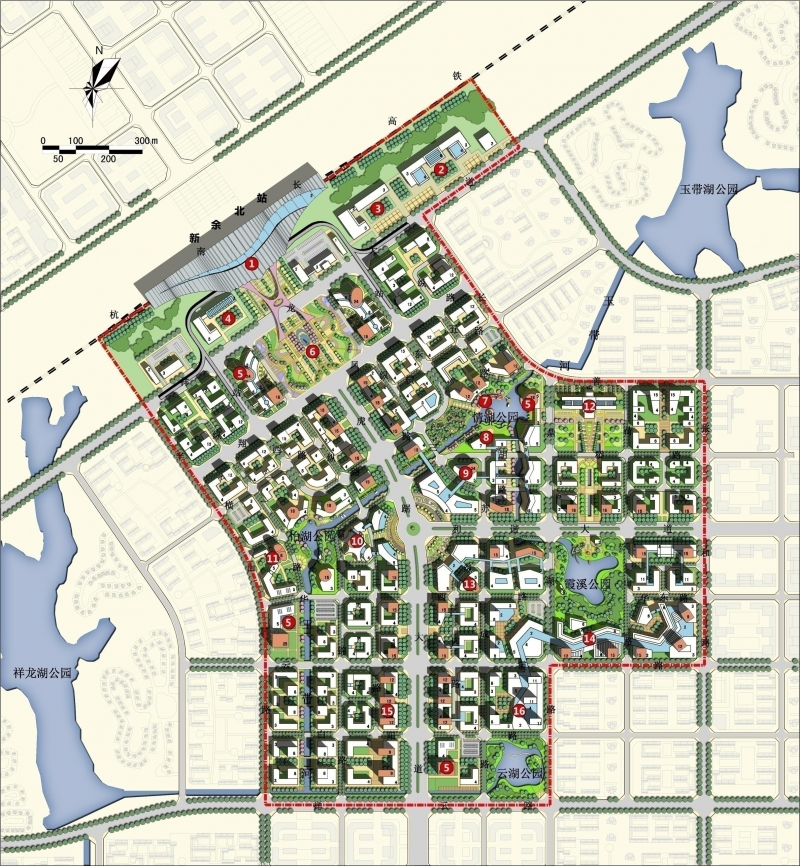 城市设计手绘平面图_城市设计cad平面图