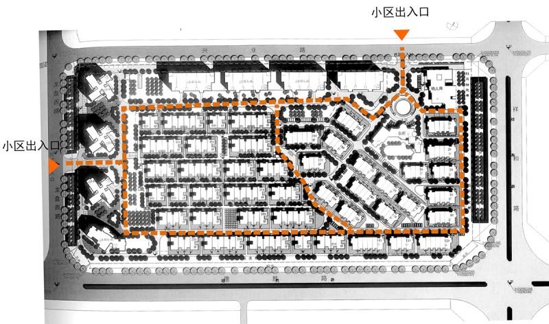 常见的快题设计类型有居住小区(r2类用地)图片