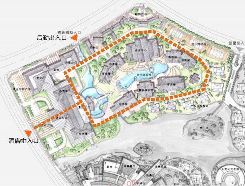 规划快题中,城市道路和内部道路如何设计
