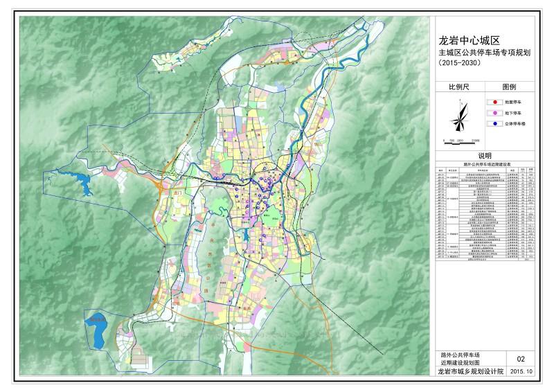 龙岩中心城区近期建设规划图.jpg