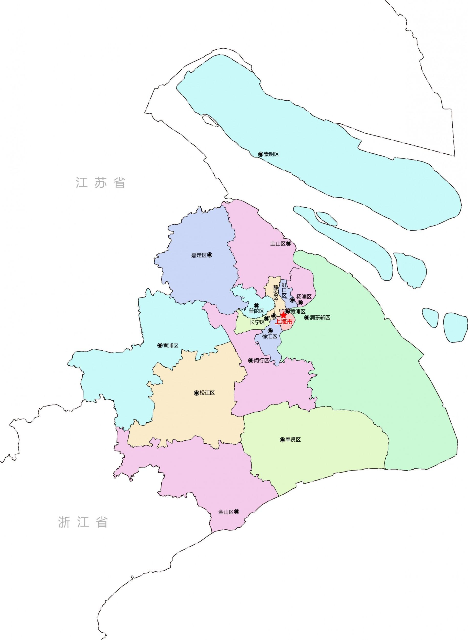 上海行政区划