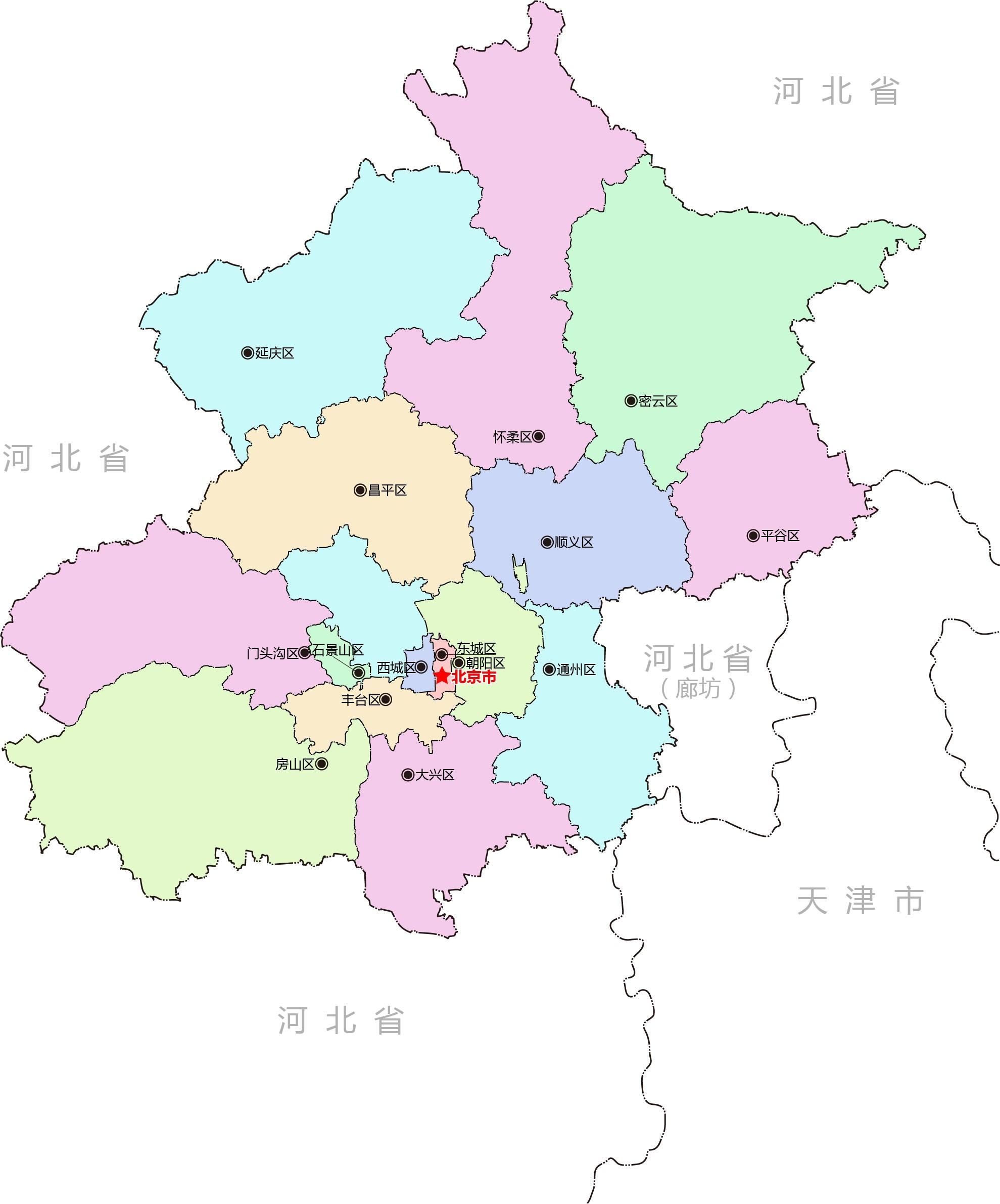 北京行政区划