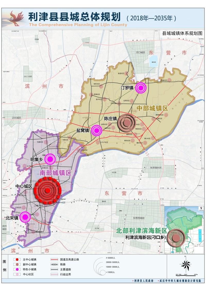 利津2018规划图