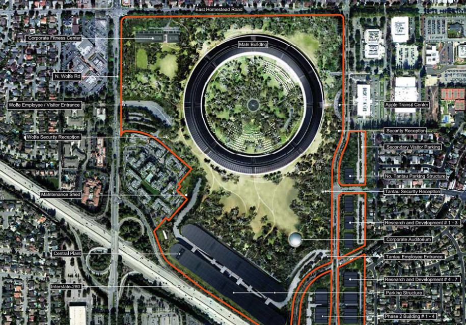创新园区:苹果新总部Campus2.0