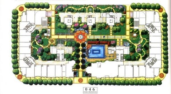 总平面图手绘 广场平面图手绘 园林平面图手绘