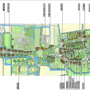 浙江省长兴总部经济园城市设计——K05