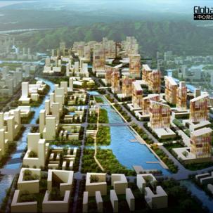 广州南沙蕉门河中心区城市设计国际竞赛——J17