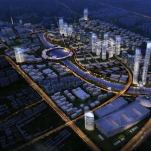 广东省佛山城市中轴线重点节点城市设计国际竞赛——J12