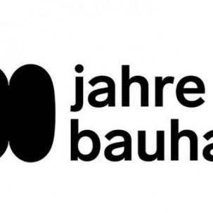 2019年包豪斯的百年华诞,纪念logo