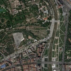 城市公园|马德里曼萨纳雷斯河岸更新景观工程