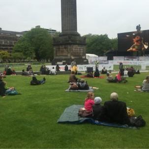 爱丁堡一年一度的 film festiv