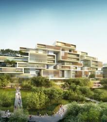 无车城市 中國建築 成都市天府新区