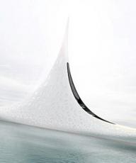 俄罗斯设计师拟造超级游艇 外形奢华酷似星星