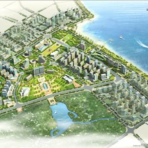 广东省湛江海东新区城市设计——K22