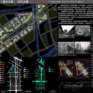 上海青浦新城西区概念性城市设计国际竞赛——J06