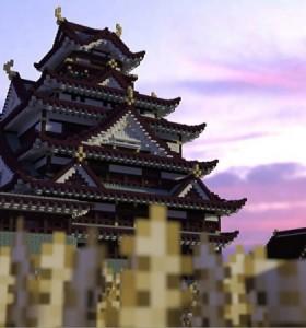 大阪城Minecraft