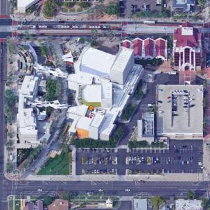 公共建筑|美国Mesa艺术中心