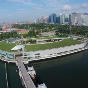 【市政设施】The Marina Barrage 大坝与建筑