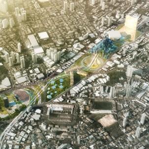 巴西圣保罗市政厅公园视觉概念设计