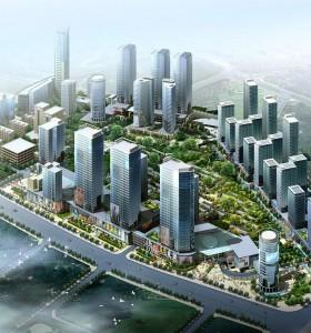谋区块城市设计——几张图纸仅供交流