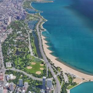 滨水区设计|芝加哥滨水区规划