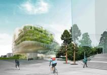 斯德哥尔摩(Drivhus)温室概念办公楼