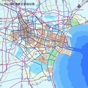 【天津市】城市总体规划(2005—2020)
