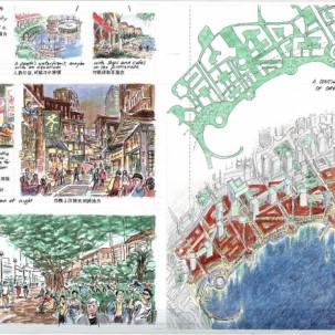 香港中环海旁城市设计竞赛——J18