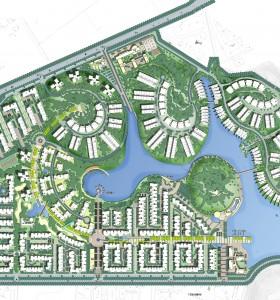 【清新风格】【居住区】一个优秀典范的规划图