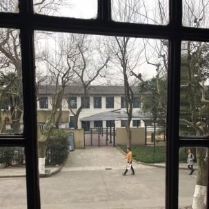上海街道空间。