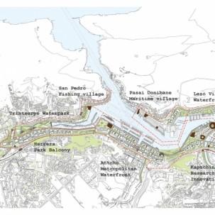 西班牙圣塞瓦斯蒂安滨水地区城市更新——可标记