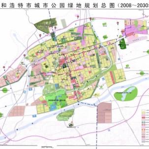 【内蒙古自治区】呼和浩特总体规划(2009-2020)——X06