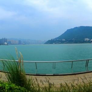 涪陵区175水位  平湖美景