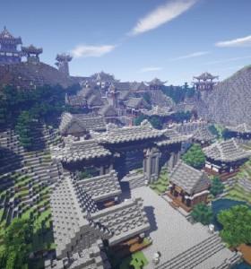 古浔州城Minecraft