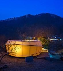 最浪漫的帐篷营地 - 韩国