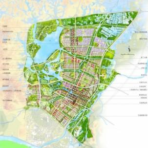 佛山三水新城核心区概念性规划及城市设计方案国际竞赛——J05