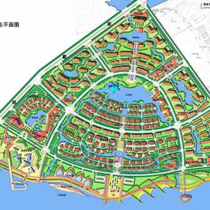 秦皇岛(龙湾半岛)北戴河新区洋河项目详细规划设计——K13