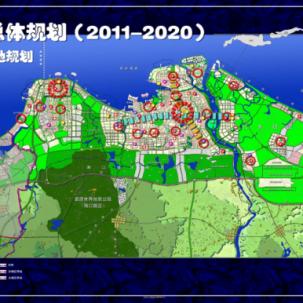 【海南省】海口市城市总体规划(2011-2020)