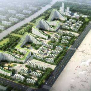 天津东江新区规划设计——可标记