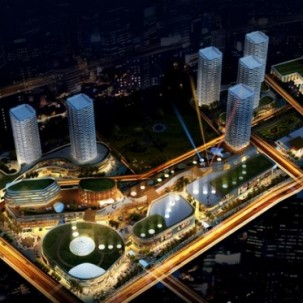 老挝万象世贸中心——可标记