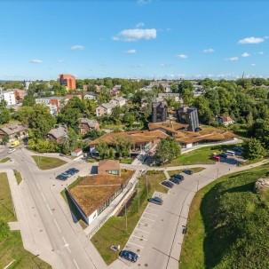 绿色建筑|拉脱维亚东部Zeimuls创新服务中心
