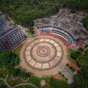 中山大学珠海校区宿舍区俯瞰